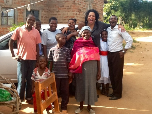 MY FAMILY IN AFRICA